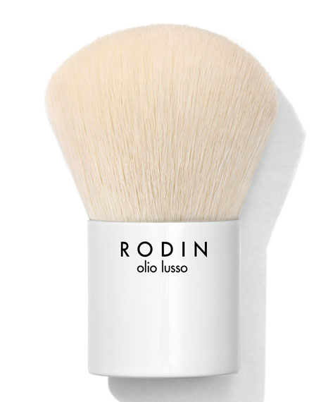 Limited Edition Mermaid Collection Luxury Kabuki Makeup Brush by Rodin Olio Lusso