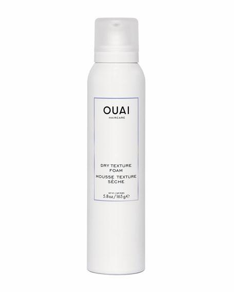 OUAI Haircare Dry Texture Foam, 5.8 oz./ 165