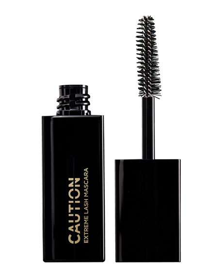 HOURGLASS COSMETICS Caution(Tm) Extreme Lash Mascara Mini Size Black - 0.19 Oz in Ultra Black