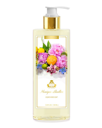 Monique Lhuillier Citrus Lily Liquid Hand Soap  8.45 oz./ 250 mL