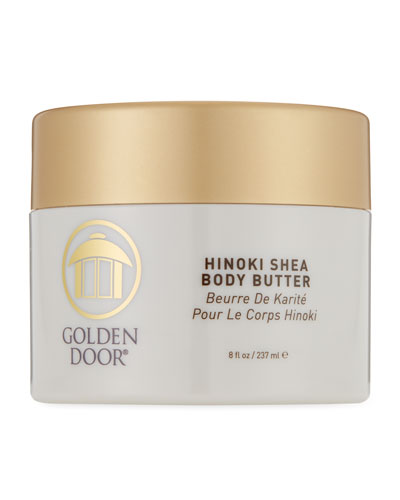 Hinoki Shea Body Butter  8.0 oz./ 237 mL