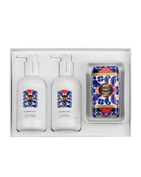 VOGA Liquid Soap Body Moisturizer Soap Gift Set