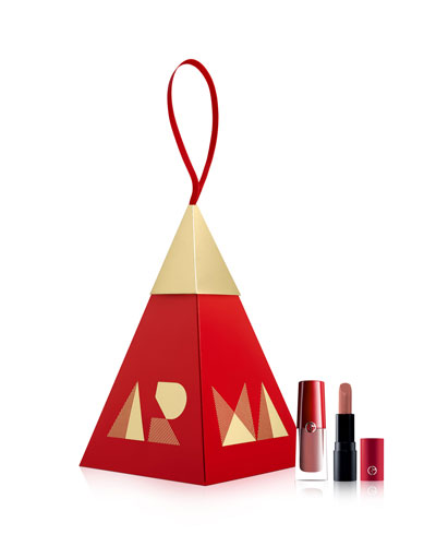 Nude Lip Duo Ornament Set