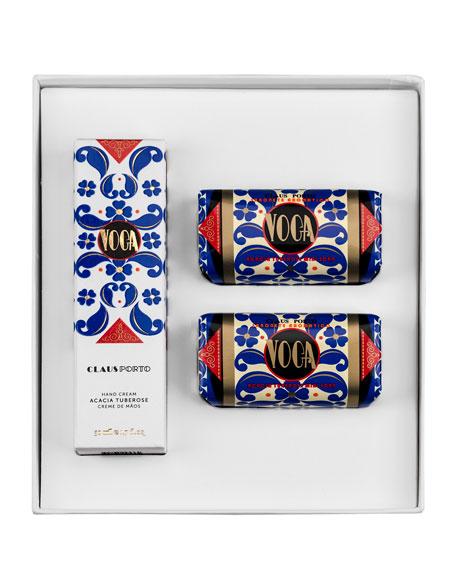 VOGA Hand Cream and Mini Soap Set
