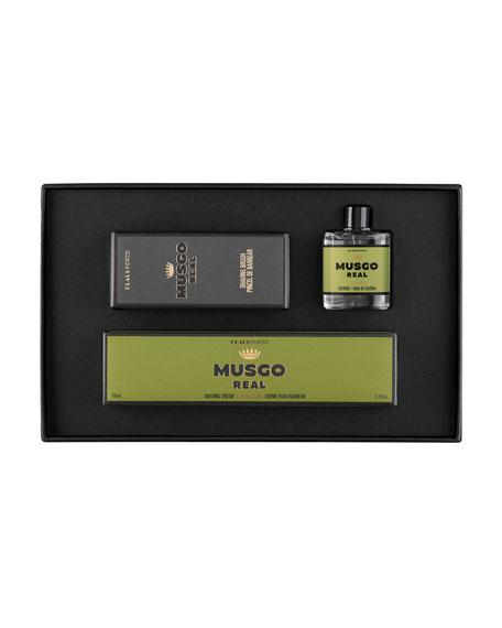 Musgo Real Classic Mini Cologne, Shaving Cream and