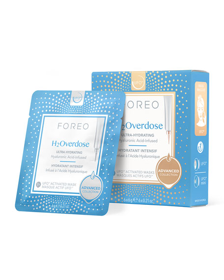 Foreo UFO H2Overdose Masks (6 Count)