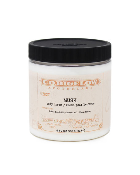 Musk Body Cream, 8 oz./ 236 mL