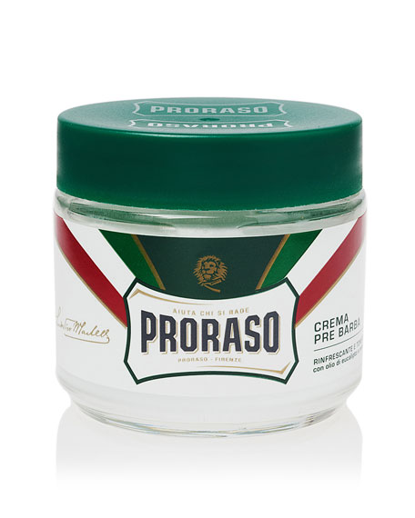 Proraso Pre-Shave Cream Refreshing and Toning Formula, 3.6