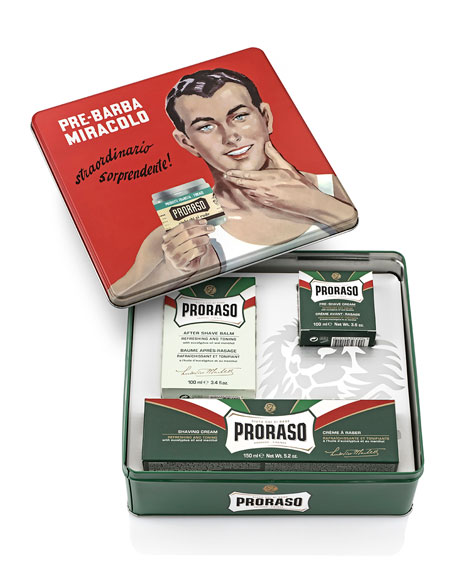Vintage Gino Tin Refreshing and Toning Formula