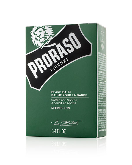 Proraso Beard Balm Refreshing Scent, 3.4 oz./ 100 mL