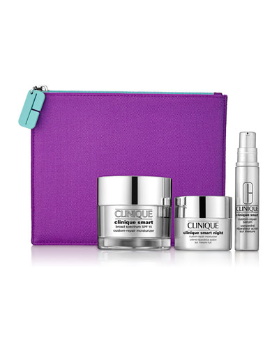 Limited Edition Smart & Smooth: Smart Serum Skin Care Set ($95 Value)