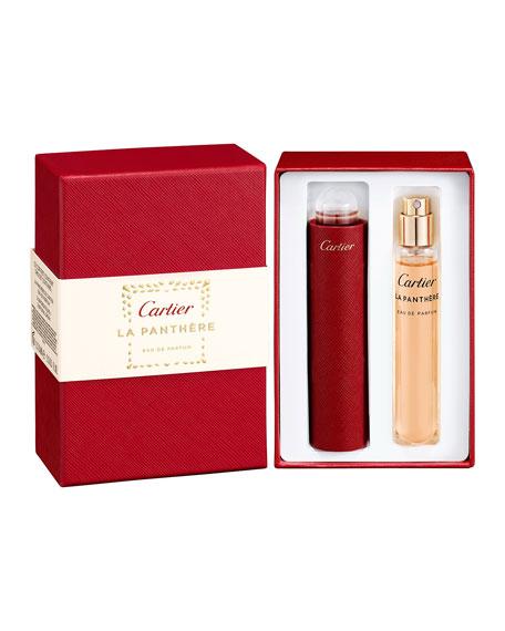 La Panthère Eau de Parfum Set, 2 x 0.5 oz.