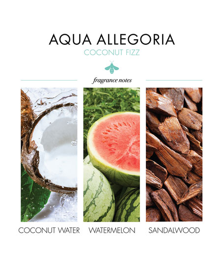 Aqua Allegoria Coconut Fizz Eau de Toilette Spray, 4.2 oz./ 125 mL