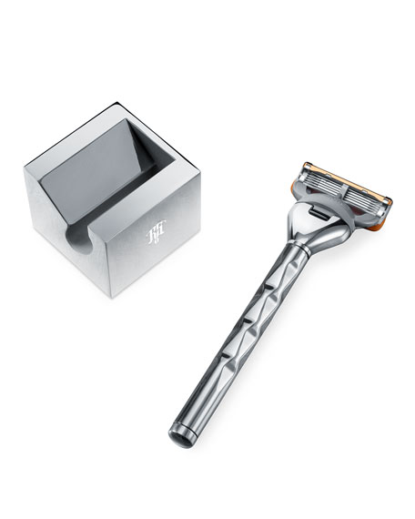 Set of Handle for Gillette Fusion and a Stand