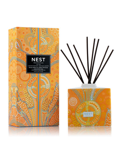 Pineapple & Driftwood Reed Diffuser  5.9 oz.