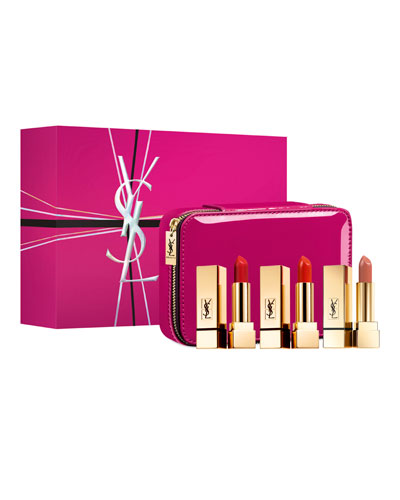 Rouge Pur Couture Lipstick Vanity Trio