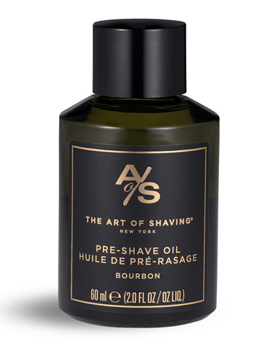 Bourbon Pre-Shave Oil  2 oz./ 60 mL