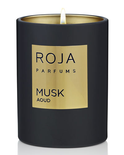 Musk Aoud Candle  7.8 oz./ 220 g