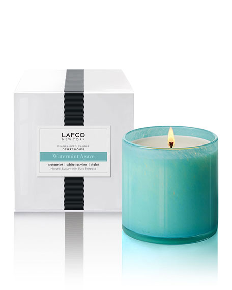 Lafco Watermint Agave Signature Candle - Desert House,