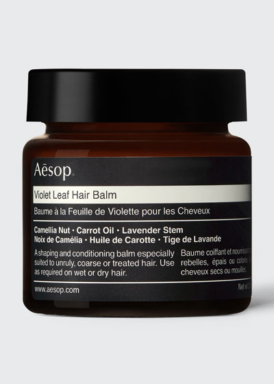 Violet Leaf Hair Balm  2 oz. / 60 mL