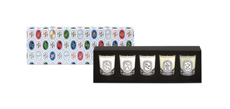 Holiday Mini Candle Set, 1.7 oz. / 35g x 5