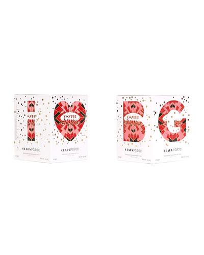 I Love BG Chypre Cedar Poinsetta Candle  9.5 oz./ 270 g