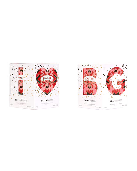 I Love BG Chypre Cedar Poinsetta Candle, 9.5 oz./ 270 g