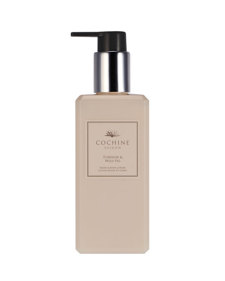 Tuberose & Wild Fig Hand and Body Lotion, 10 oz./ 300 mL