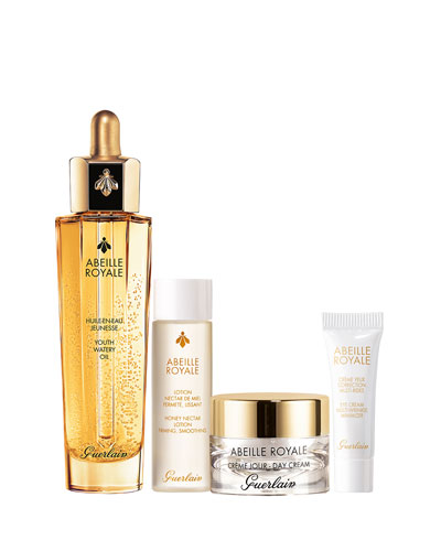 Abeille RoyaleAnti-Aging Facial Watery Oil Value Set ($185 Value)
