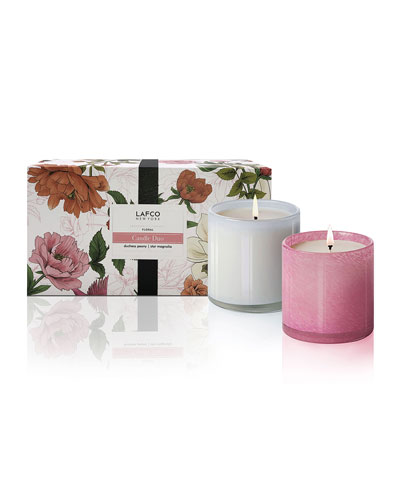 Floral Candle Duo, 6.5 oz./ 190 g