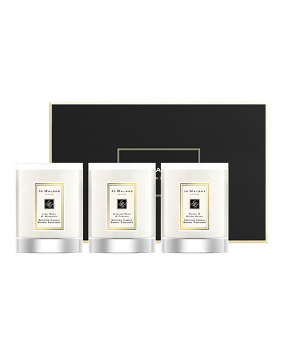 Travel Candle Collection  3 x 60 g