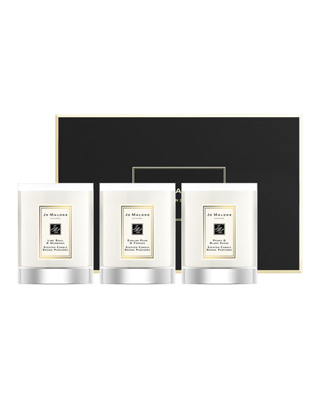 Travel Candle Collection, 3 x 60 g
