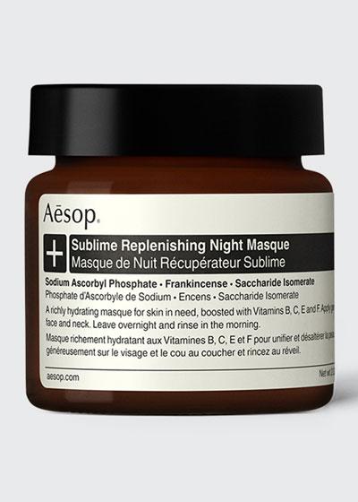 Sublime Replenishing Night Masque, 2 oz./ 60 mL