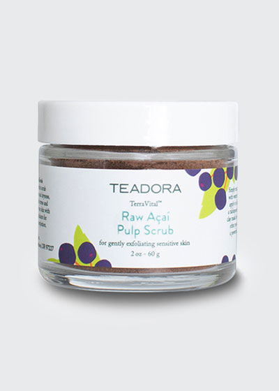 TerraVital Raw Acai Pulp Scrub, 2 oz./ 60 g