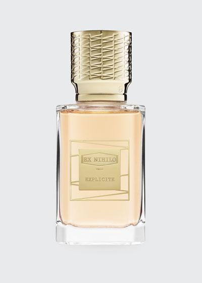 EXPLICITE Eau de parfum  1.7 oz.