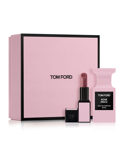 Rose Prick and Lip Color Set
