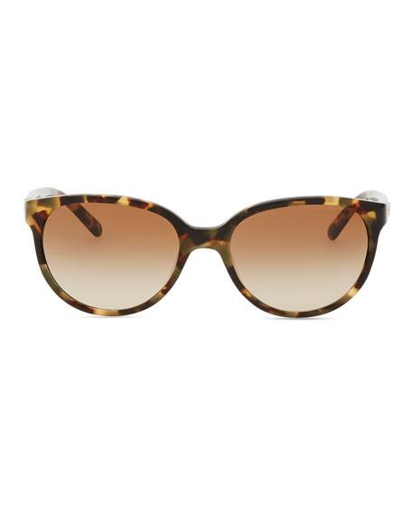 Thin Oval Sunglasses