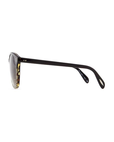 Corie Round Retro Sunglasses