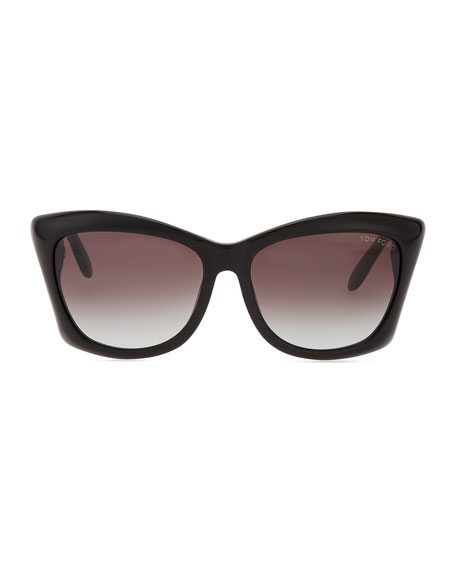 Lana Square Cat-Eye Sunglasses
