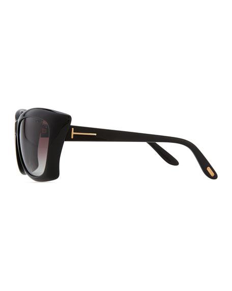 Lana Square Cat-Eye Sunglasses