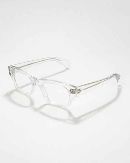 Bradford Clear Fashion Glasses, Crystal