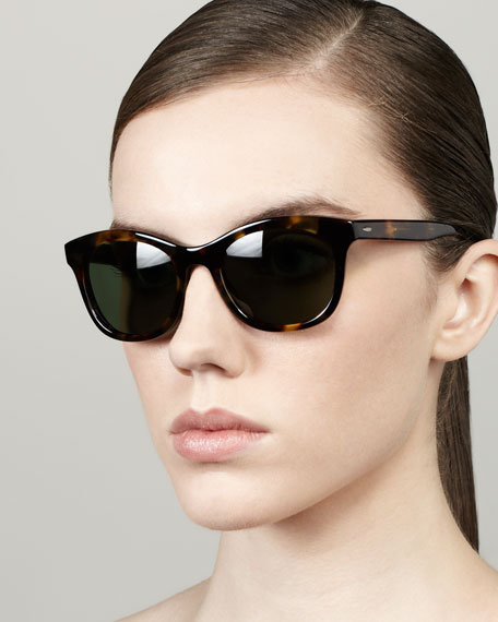 Bancroft Sunglasses, Dark Tortoise