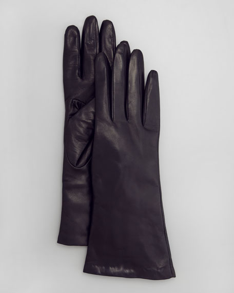 Four-Button Leather Gloves, Mysterioso