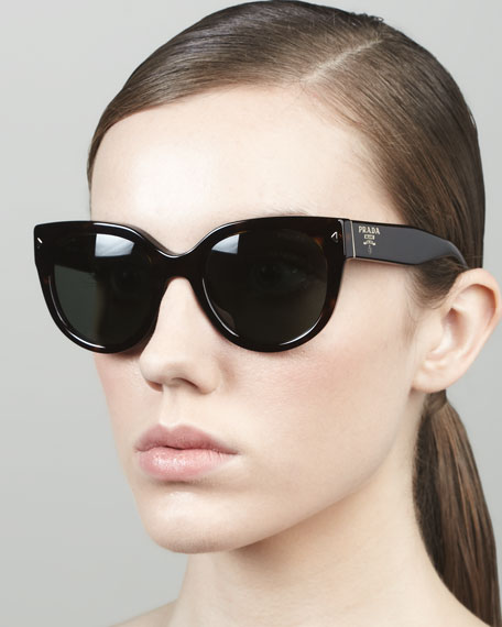 Heritage Cat-Eye Sunglasses, Tortoise