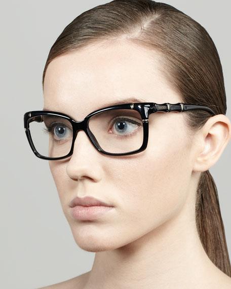 45f11696a7d Gucci Bamboo Frame Fashion Glasses