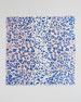Animal-Print Square Scarf, Cobalt/Pink