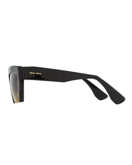 Sunglasses Cutoff Square Rasoir Black Rasoir Sunglasses Rasoir Square Cutoff Cutoff Black w0PnOX8k
