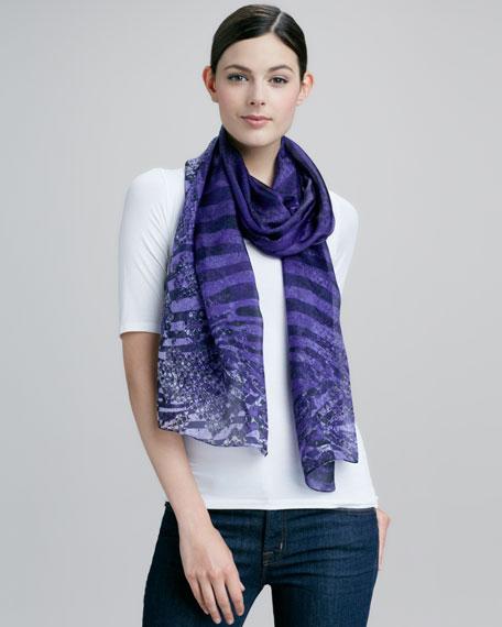 Siracusa Printed Silk Scarf