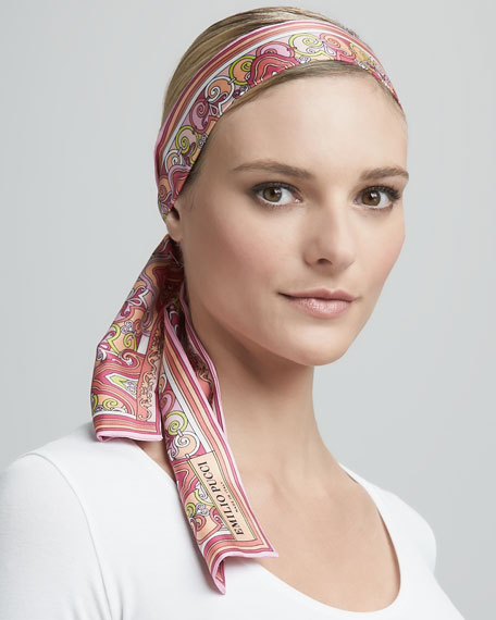 Neck/Head Wrap, Pink