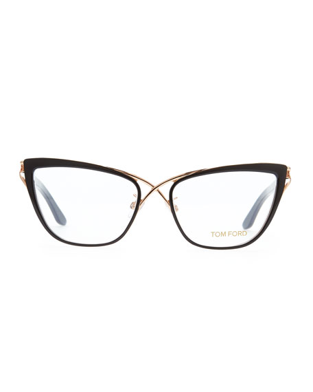 Tom Ford Crossover Cat Eye Fashion Glasses